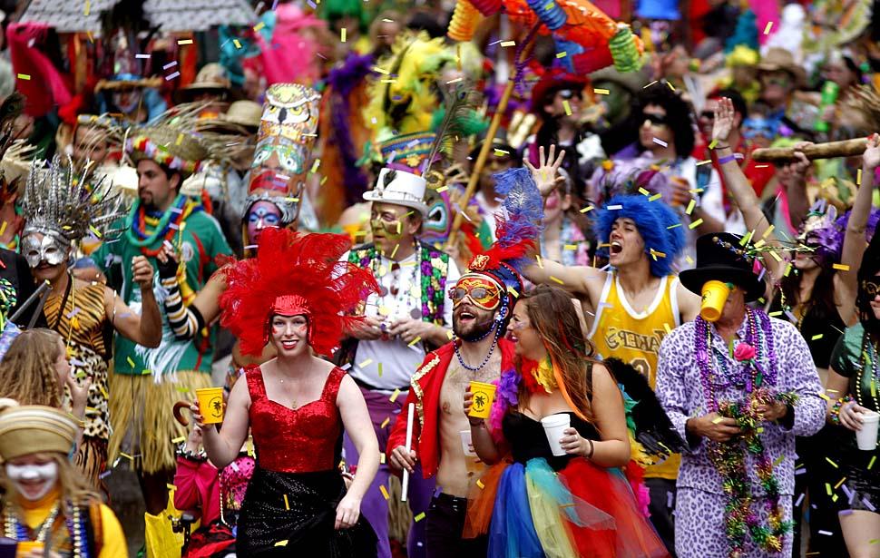 Mardi Gras – EnglishOŠAca